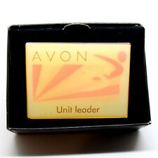 "Avon Unit Leader Pin 2"" Enamel Butterfly Safety Clutch 2008 Achievement Award"