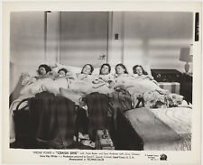 School Girls Asleep in Bed on Vintage 1943 STILL PHOTO for Crash Dive 593-8