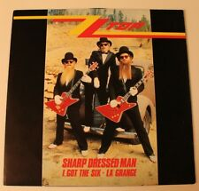 ZZ Top, Sharped Dressed Man ; Maxi LP, Vinyl, 1984, Warner 920 158-0