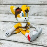 """Sega Tomy Sonic Boom Series Tails Character 8"""" Plush Soft Toy Rare"""