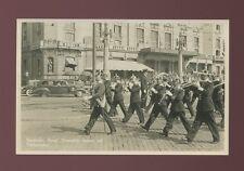 Sweden STOCKHOLM Kungl. Dramatiska teatern Vaktparaden Band c1920/30s? RP PPC