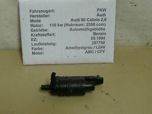 Audi 80 Cabrio 2,6 Bj. 1997 Waschwasserpumpe