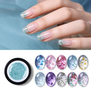 BORN PRETTY 5ml Natural Flower Fairy UV Gel Nail Polish Soak Off Nail Art Gel