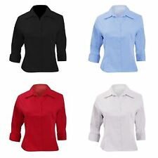 Women's Formal Cotton Blend Tops & Shirts