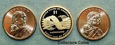 2010 Three Coin Sacagawea Native American PDS Set from Mint Rolls/Proof Sets