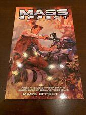 Mass Effect: Evolution Paperback Comic Book 2011 BioWare - Dark Horse