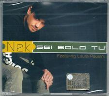 Nek feat. Laura Pausini. Sei solo tu (2002) CDSingle NUOVO SIGILLATO En el tren