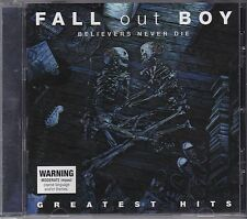 FALL OUT BOY - BELIEVERS NEVER DIE - GREATEST HITS - CD - NEW -