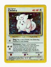 1999 Pokemon Base Unlimited Clefairy Holo #5/102 – NM