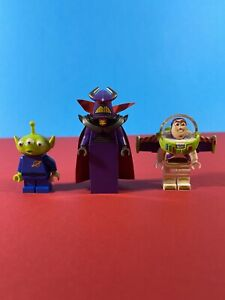 Lego MINIFIGURE TOY STORY ZURG 7593 Buzz Lightyear and Alien Disney minifigures