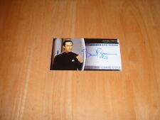 Star Trek Insurrection 1998 Autograph card A3 Lieutenant Commander Data