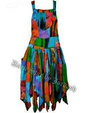 JORDASH DRESS PATCHWORK HIPPY BOHO QUIRKY FAE PIXIE LAGENLOOK PSYCHEDELIC  -12