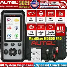 Autel Maxidiag Md806 Pro All System Obd2 Auto Diagnostic Tool Srs Epb Dpf Abs