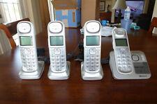 4 Handset Panasonic Kx-Tg674 Dec 6 Cordless Phone System Link2Cell Talk Id
