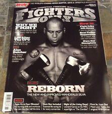 8/10 FIGHTERS ONLY MAGAZINE - WANDERLEI SILVA etc - UFC - MMA US Edition