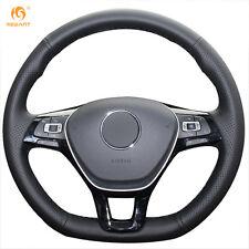 Leather Steering Wheel Cover for VW Golf 7 Mk7 New Polo Passat B8 Jetta #GB18