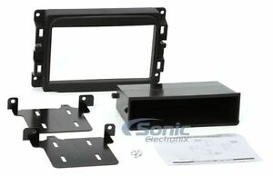 Scosche CR1298B Single/Double DIN Radio Install Kit for Select 2013-Up Dodge Ram