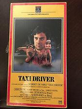 Taxi Driver Vhs-1987-Robert DeNiro, Jodie Foster