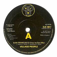 "Village People - San Francisco (You've Got Me) - 7"" Record Single"
