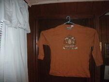 Timberland t-shirt mustard long sleeve MIDEVIL WHEAT DESIGN size XL/TGTALL NEW