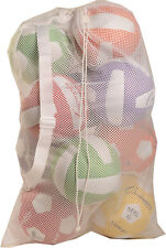 Mesh Ball Bag 24 x 48 with Adjustable Shoulder Strap - White only