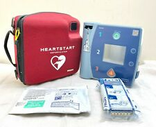 PHILIPS FR2+ DEFIB AED HEARTSTART + NEW SEALED 2020 BATTERY & 2023 PADS