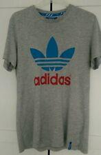 Adidas Vintage T-shirt Trefoil Size M Slim Fit