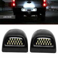 Rear Full LED License Plate Light Kit For Silverado GMC Sierra 1500 2500 3500 US