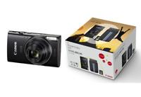 Canon IXUS 285 HS Essentials Kit with 8GB SD Card & Canon Case: Black