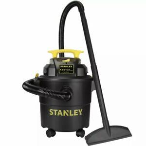Stanley SL18115P Wet/Dry Vacuum, 5 Gallon, 4 Horsepower, 4.0 HP AC, Black