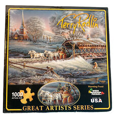 white mountain puzzle 1000 piece Terry Redlin Morning Frost exclusive collection