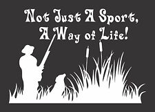 Hunter Dog Way of Life Sport - Die Cut Vinyl Window Decal/Sticker for Car/Truck