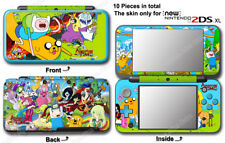 Adventure Time Amazing SKIN STICKER COVER #1 for NEW Nintendo 2DS XL (2017)