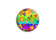 Peace and Love - Fleurs 3 - Badge 25mm Button Pin