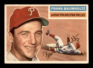 1956 Topps Set Break # 274 Frank Baumholtz EX *OBGcards*