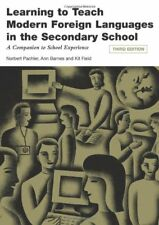 Learning to Teach Modern Foreign Languages in the Secondary School, Third Edit,