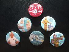 Hallmark Keepsake Star Wars SDCC complete 6 pin button set comic con 2015 new