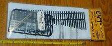 Central Valley HO #2582 Curvable Switch Kit #5R Code 83 Plastic Parts (No Rail)