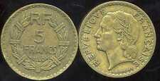 5 francs LAVRILLIER  1940