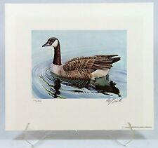 1981 Oklahoma Duck Stamp Print-Canada Goose - 10% donated to OK Tornado Relief