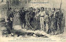 CPA Paris 1871 Examen des prisonniers Fédéres (f1864)