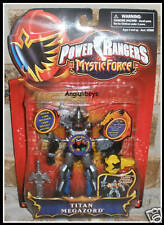 Power Rangers Mystic Force TITAN MEGAZORD 2006 RETIRED VHTF