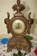 ANTIQUE KAISER MANTEL ALARM CLOCK PRE OWNED **WORKS ON AND OFF** COND IS AMAZING