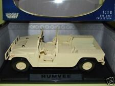 HUMMER  version militaire couleur sable  1/18