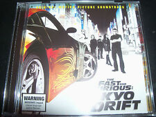 Fast & The Furious Tokyo Drift Original Soundtrack CD – New