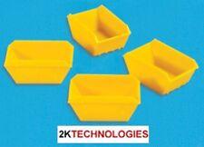 Modelscene 5188 4 x Yellow Plastic Skips 'N' Gauge - 1st Class Post