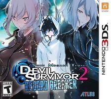 Shin Megami Tensei: Devil Survivor 2 - Record Breaker [Nintendo 3DS, RPG] NEW