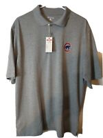 Antigua Chicago Cubs MLB Mens Short Sleeve Polo Shirt Size Large NEW