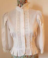 Plus Size 100% Cotton Vintage Tops & Shirts for Women