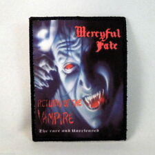 MERCYFUL FATE Return Of The Vampire (Printed Small Patch BLACK Border) (New)